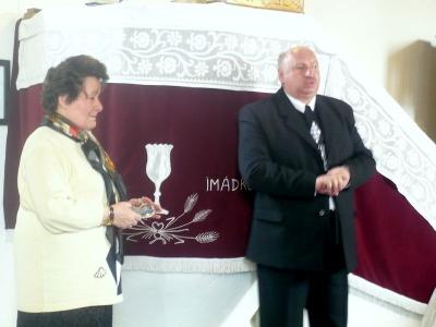 T. Sógor Magdának, a Kerületi Kántorképző Elnökének előadása