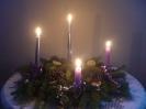 Meggyulladt a negyedik gyertya is (December 18. Advent negyedik vasárnapja)