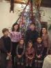 Az ünnepély szereplői: Gerő, Brigitta, Boti, Henrietta, Nóra, Anett és Vivien