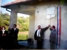 2002 május: Emléktábla leleplezés