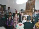 A gyerekek örömmel szerepelnek...
