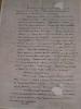 A kőlapok között talált dokumentum első oldala