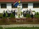 2007: Kordokumentumok elhelyezése a hősi emlékműnél