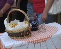 A helyi borosgazdák vendégváró finomságai