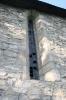 A templom gótikus ablaka