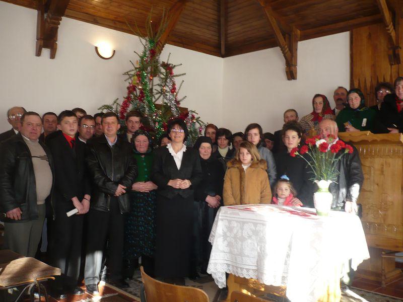 Együtt az ünneplő gyülekezet