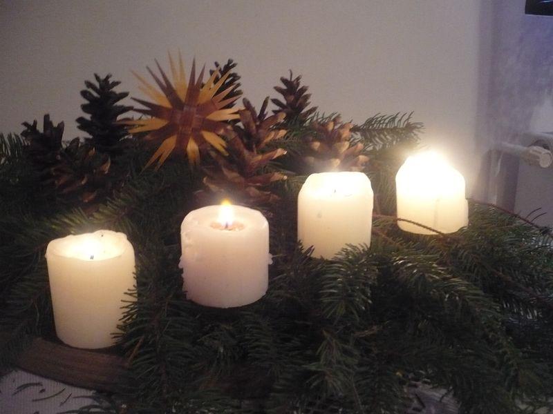 Karácsonyi fényárban...