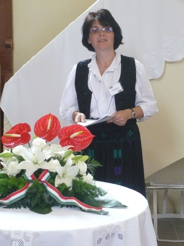 Beszéd a tibolddaróci ref. templomban