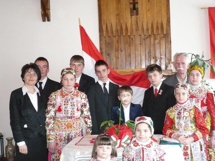 Március 15-i ünnepély